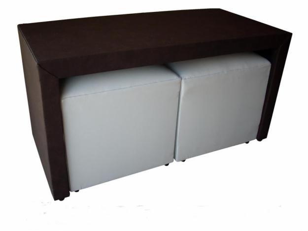 Muebles mya mesa guarda puffs for Muebles juveniles gavilan