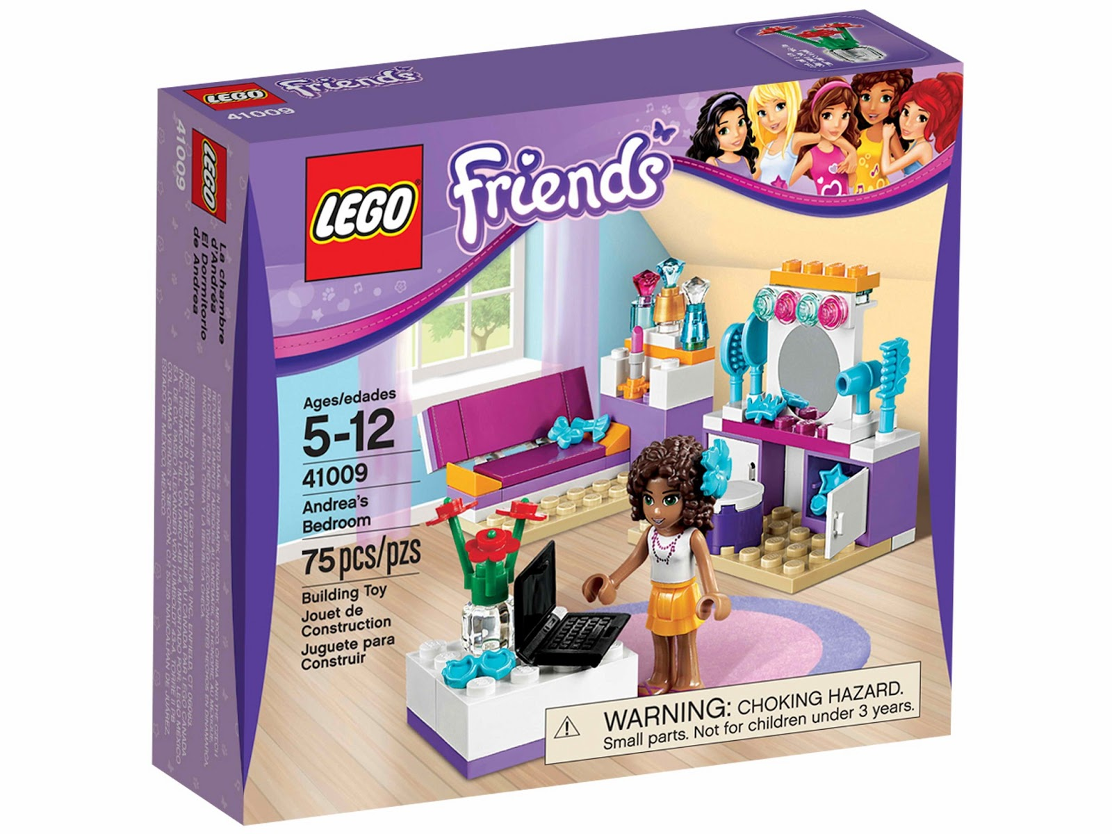 Brick Friends Lego 41009 Andrea S Bedroom