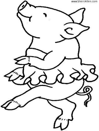 Cochinitos bebés animados - Imagui