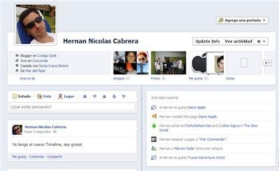 Como probar el nuevo Timeline de Facebook