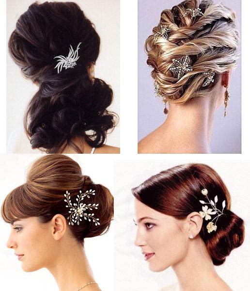 Hair Style All : ALL HAIR STYLES: Bridal Hair Jewelry