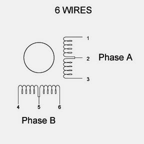 6wires and what does that mean? motor types and the bingo choice,6 Wire Stepper Motor Wiring Diagram Color Code