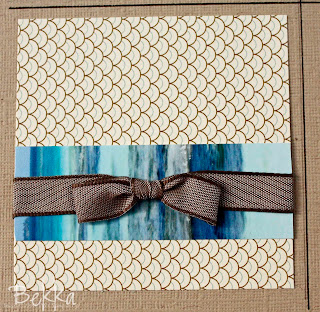 Using Photo Off Cuts as Patterned Paper