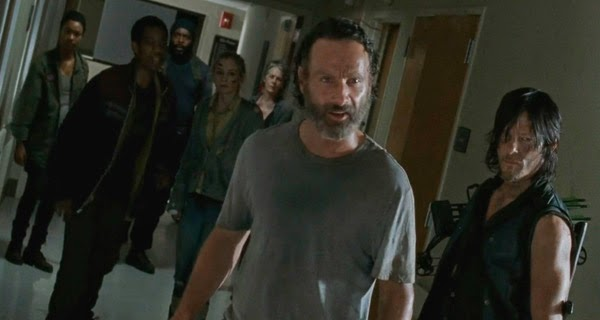 """Rescate de Beth"" en The Walking Dead 5x08 - Coda"