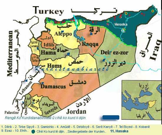 The Division of Syria Dr Mordechai Kedar