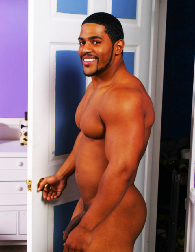 porn Light male skin star black gay