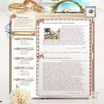 Trinity blogger template. converted WordPress to Blogger template