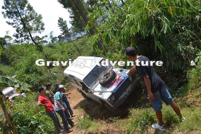 Paket Offroad di Lembang Bersama Gravity Adventure