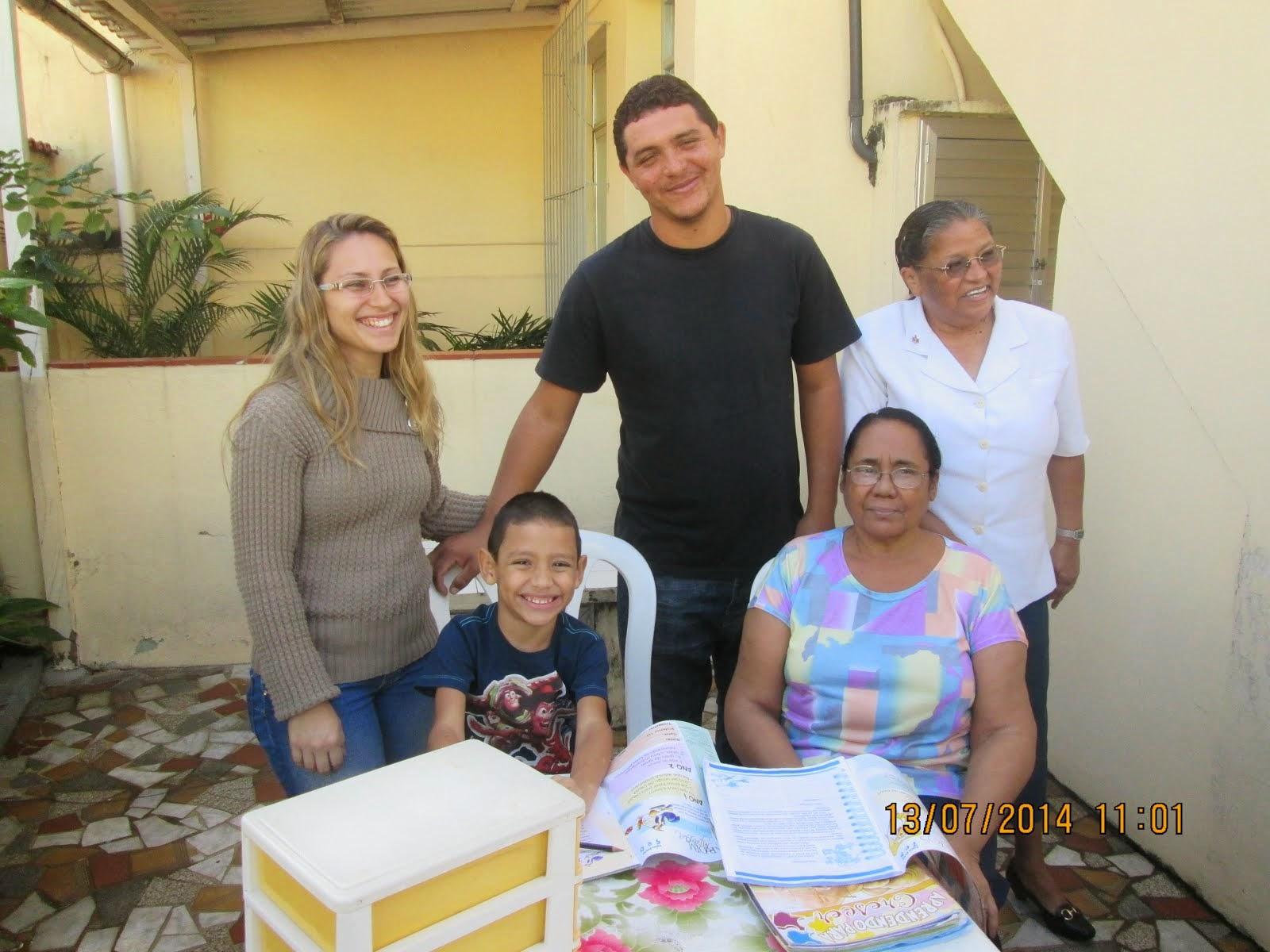 CLASSE SAMUEL INAUGURADA