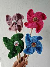 Molinillos a crochet