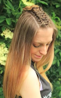 knotted braid hairstyle tutorial