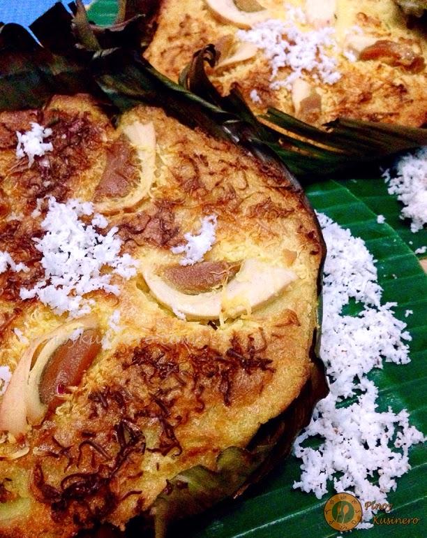 Bibingka Espesyal (Special Christmas Rice Cake)