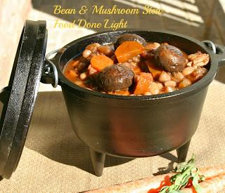 Northern Bean & Cremini Mushroom Stew