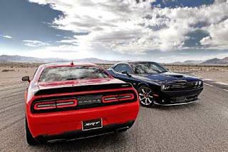 Lokasi produksi Dodge Challenger SRT Hellcat