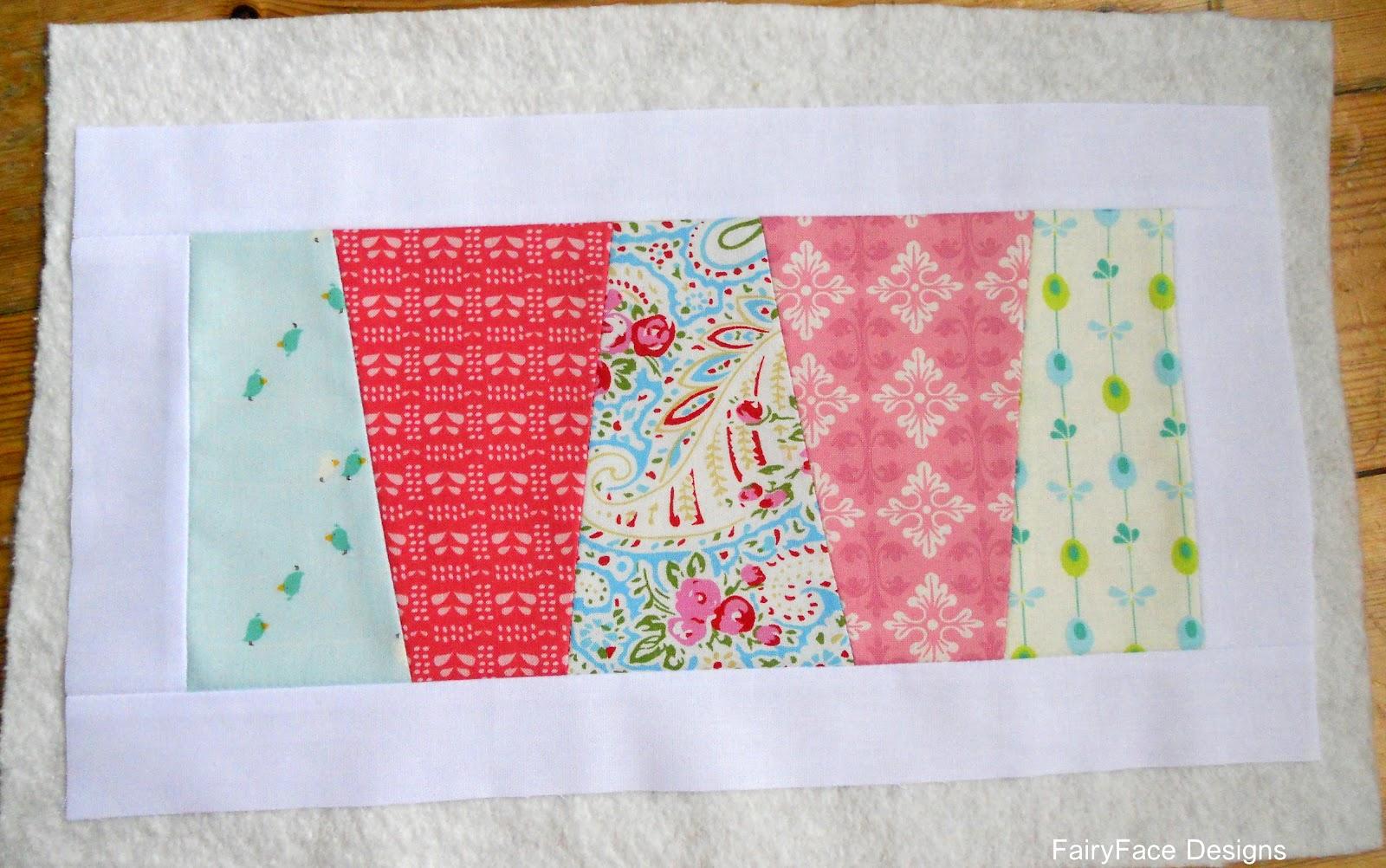 Fairyface designs sew get started easy mug rug for Easy rugs