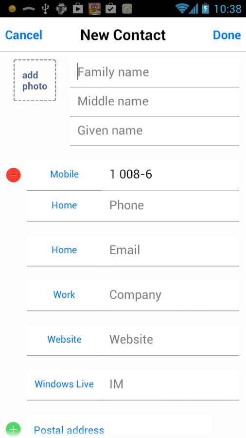 iOS 7 Dialer dan iOS 7 Contact