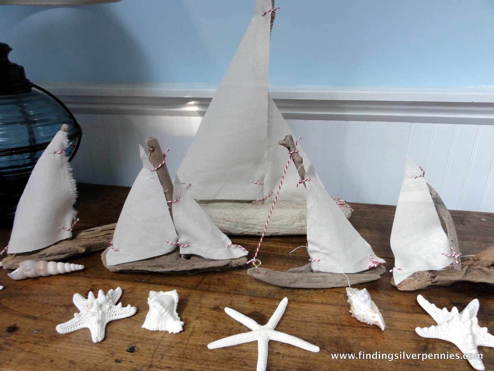 my pass it on gifts driftwood sailboats finding silver pennies