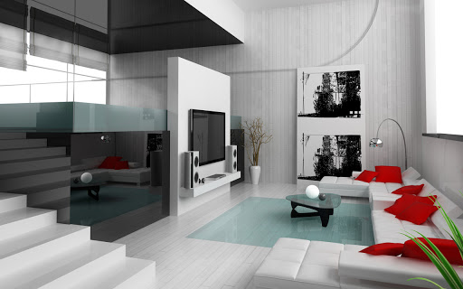 Interior Home Design, Modern interior design apartment, Modern interior home design