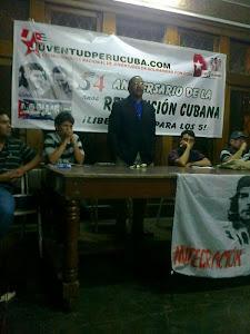 Conmemoración por el 54 aniversario de la Revolución Cubana
