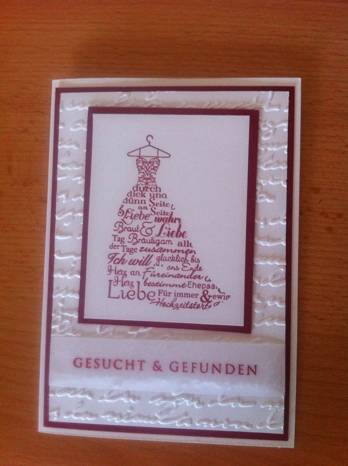 ... Ein Kleiner Umschlag Gestanzet Mit Der Briefumschlagstanze Von Marianne  Design, Darin Befindet Sich Ein Puzzle Als Gag Für Die Gäste.