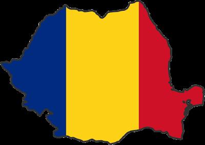 drapel tricolor romania rosu galben albastru
