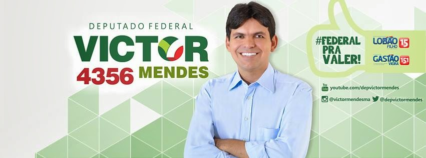 Eu voto Victor Mendes