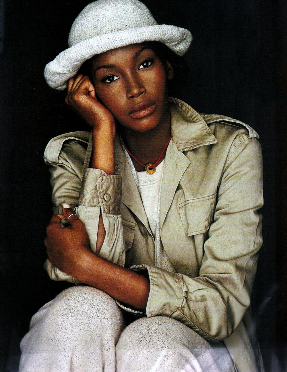 Elle US November 1993 via www.fashionedbylove.co.uk