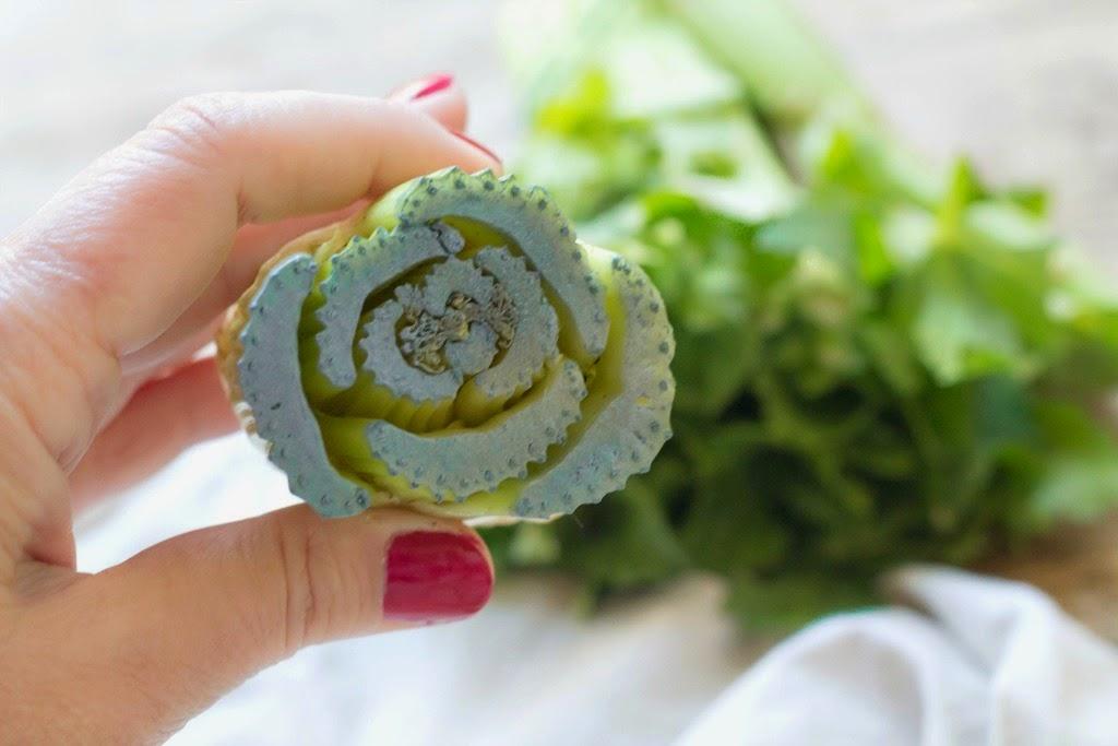 DIY Estampar rosas de apio en una camiseta / DIY celery stamped roses t shirt