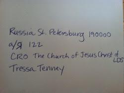 Her Address!