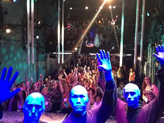 Blue Man Group #BBNYC #bloggingblue