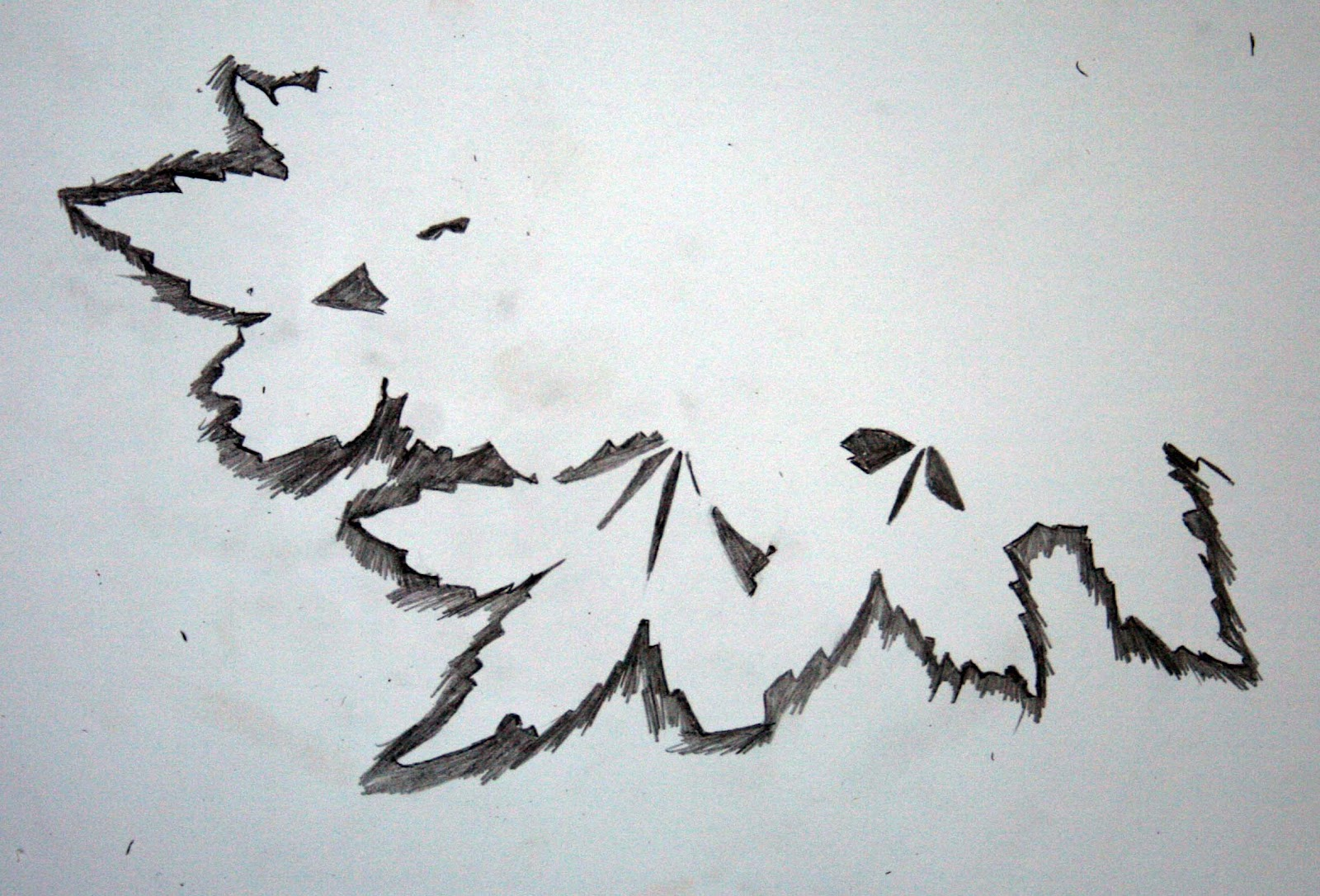 Gallery For gt Negative Space Drawing Ideas