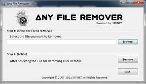 برنامج ازالة الملفات program any files remover
