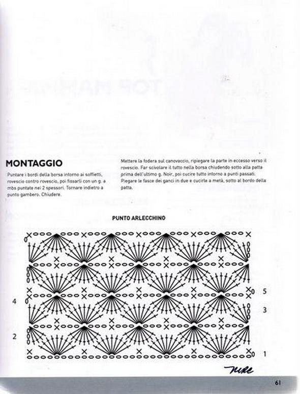 Bolsas tejidas a crochet y patrones ~ Solountip.com