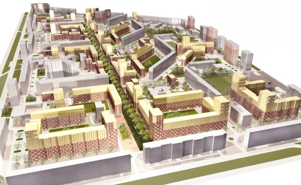 Структура жилого района