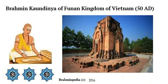 Brahmin Kaundinya of Funan Kingdom of Vietnam