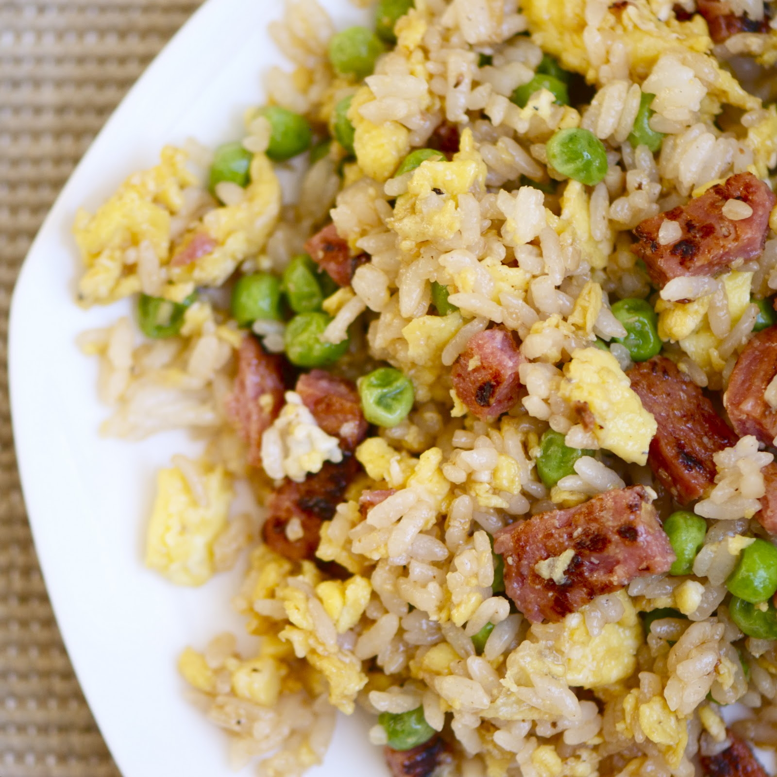 The Walsh Cookbook: Spam Fried Rice - Erin