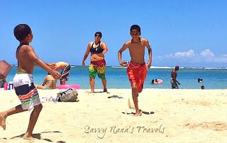 Kids on Oahu