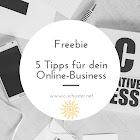 Freebie - 5 Tipps für mehr Sichtbarkeit