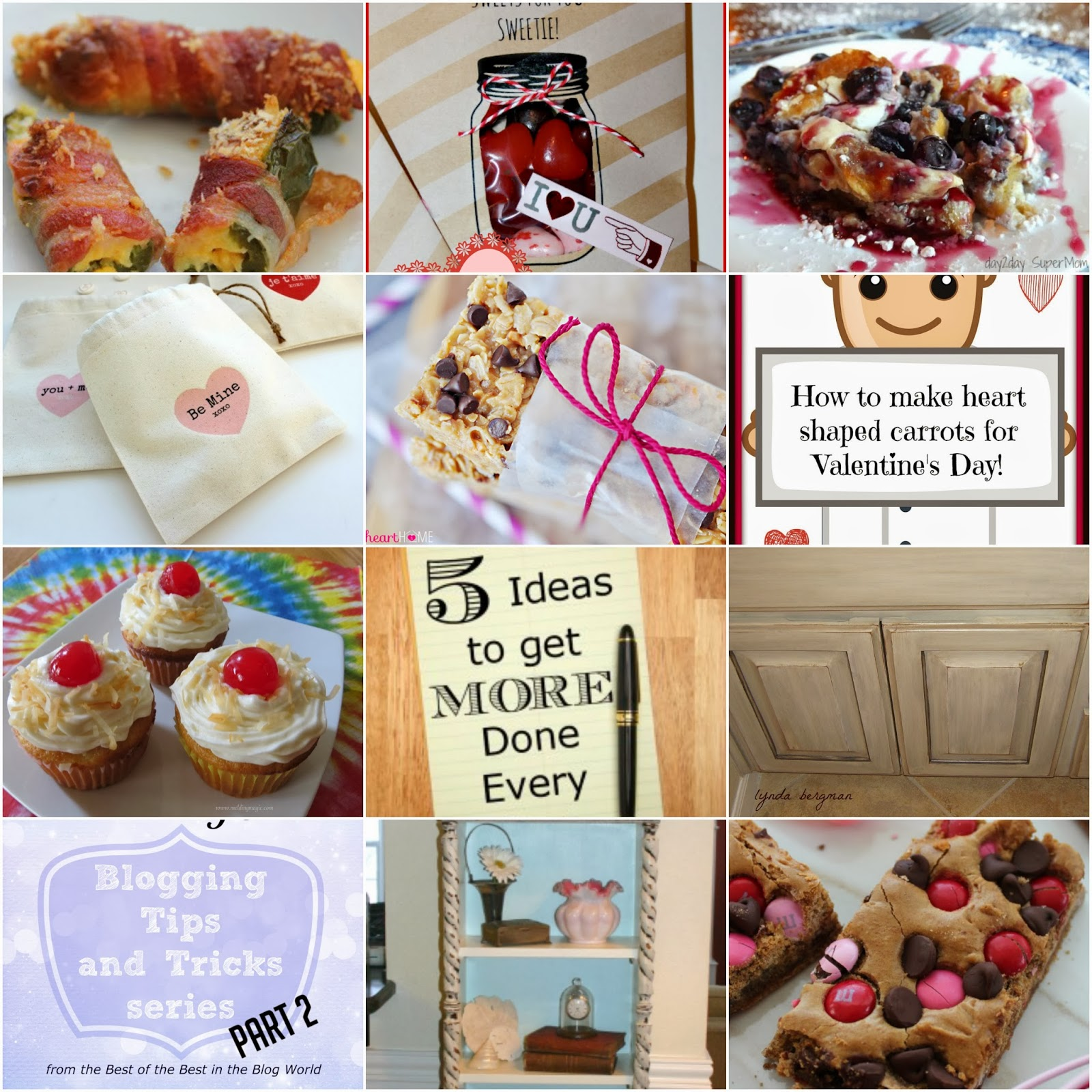 Features+Collage Weekend re Treat Link Party #54