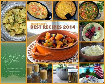 Best Vegetable Recipes of 2014 from A Veggie Venture