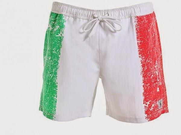 Come ti tifo l 39 italia la moda per i mondiali di calcio 2014 lo stile di artemide - Costume da bagno tricolore ...