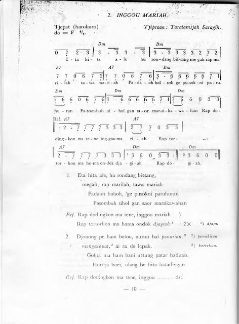partitur inggou mariah