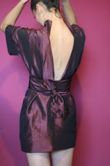 Sukienka kimono wyróżniona w konkursie Łucznika
