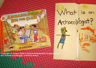What is an Archaelogist Lapbook