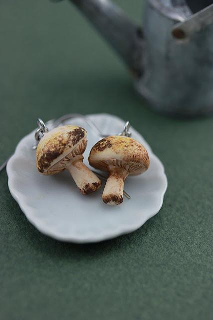 Miniature food jewellery