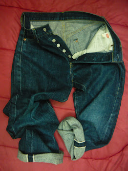 LEVIS 503B big E  selvedge  kod 02
