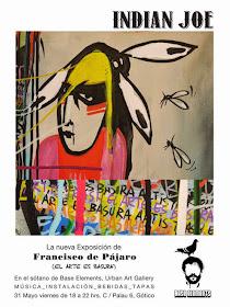 FRANCISCO DE PAJARO EXPONE