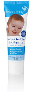 brush baby and toddler toothpaste