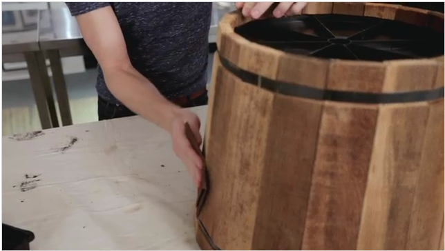 diy wood barrel how to make jewelry boxes out of wood