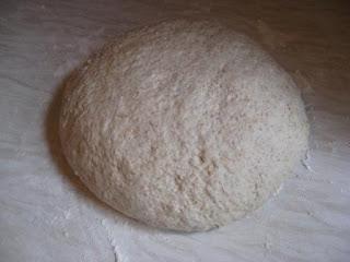 Kneaded bread dough